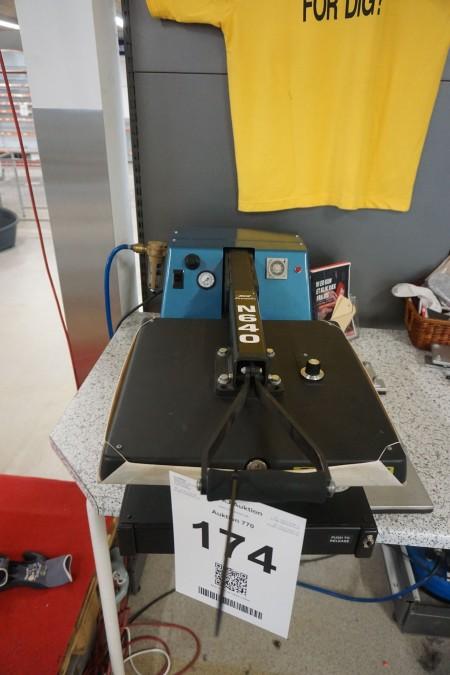 Trykmaskine for logo/bogstaver. Mærke: Hix premier. Model: N640