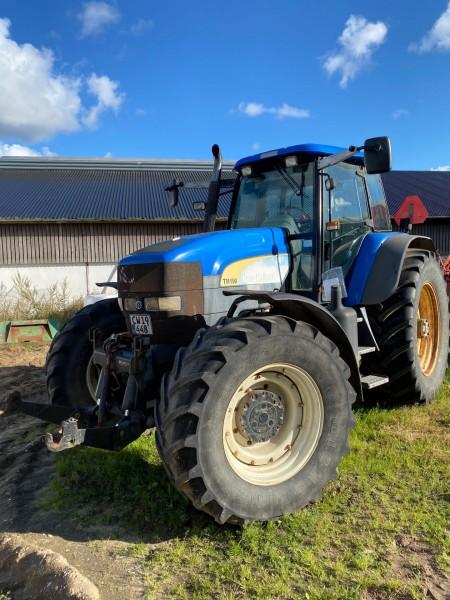 Traktor, Mærke: New Holland, Model: TM 190 Reg nr: CW19448
