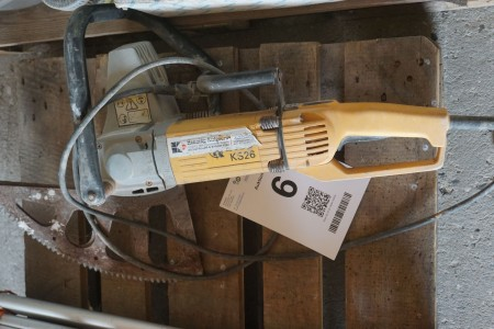 Fuge/mursten-skæremaskine, Mærke: Kango, Model: KS26