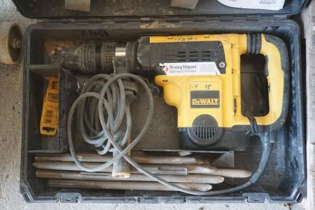Borehammer, Mærke: DeWalt. Model: D25721