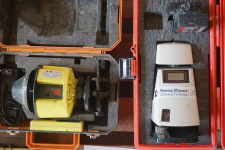 2 stk. nivelleringsapparater, Mærke: TAL og Pro Shot.