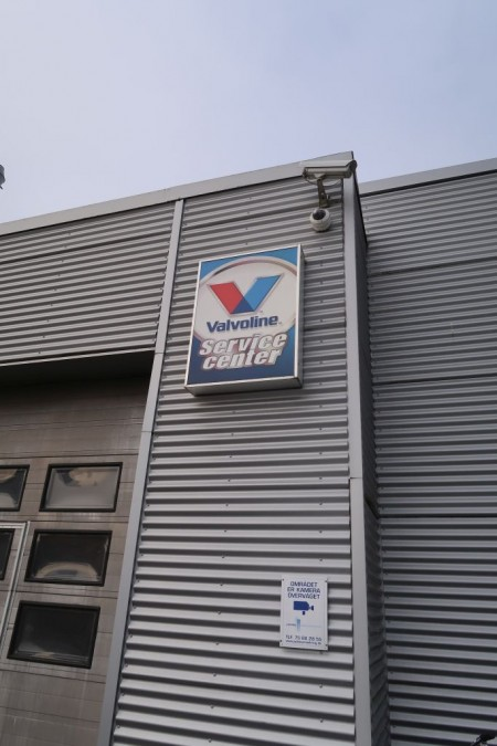 Facade sign, W70xH100 cm. Buyer must dismantle himself