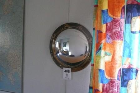 Gammeldags butler spejl