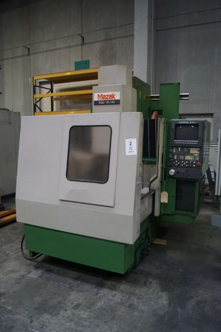 CNC bearbejdningscenter, MAZAK