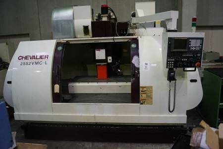 CNC, bearbejdningscenter, CHEVALIER