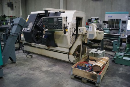 CNC, lathe 7 axis, NAKAMURA