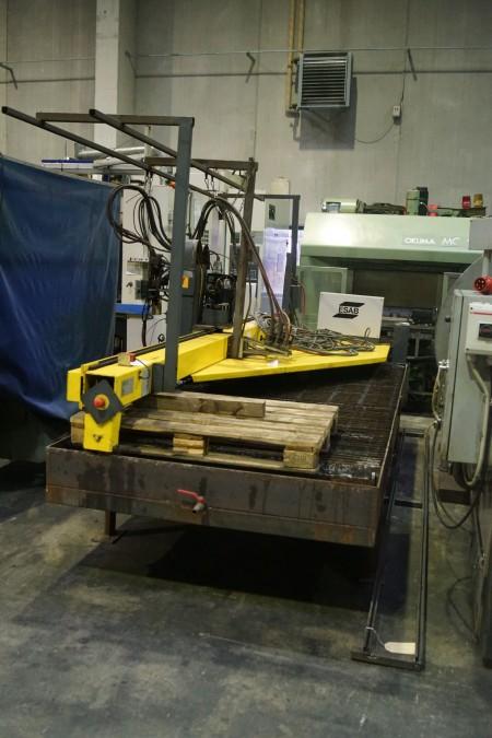 CNC, Plasmaskæremaskine, ESAB
