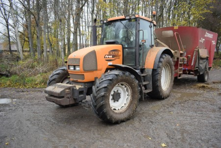 Traktor, Mærke: Renault ares, Model: 636RZ