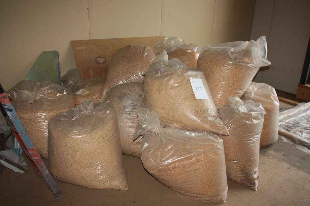 Bags Of Sawdust On The Ceiling Lot Insulation Basin