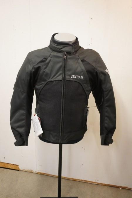 Motorcykel jakke, mærke: VENTOUR. Str: XS