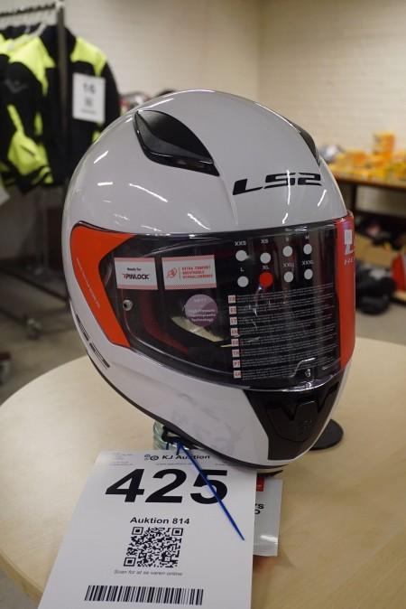 Motorcycle helmet, Brand: LS2, Size: XL