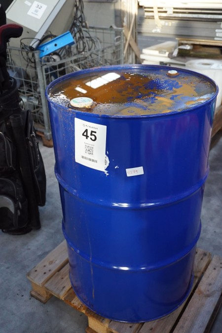 Unbroken barrel with contents