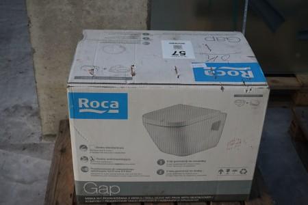 Vægtoilet, mærke: Roca, model: The Gap