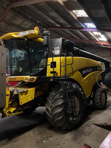 Mejetærsker, Mærke: New Holland, Model: CX880: Bemærk: Ny information på tærsker (billede og tekst)