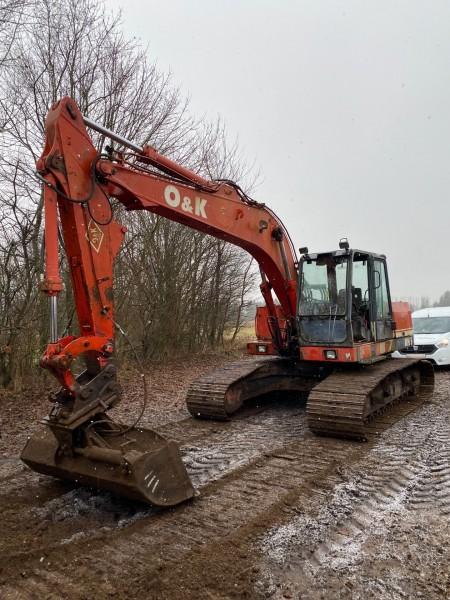 Excavator, Brand: O & K, Model: RH 5