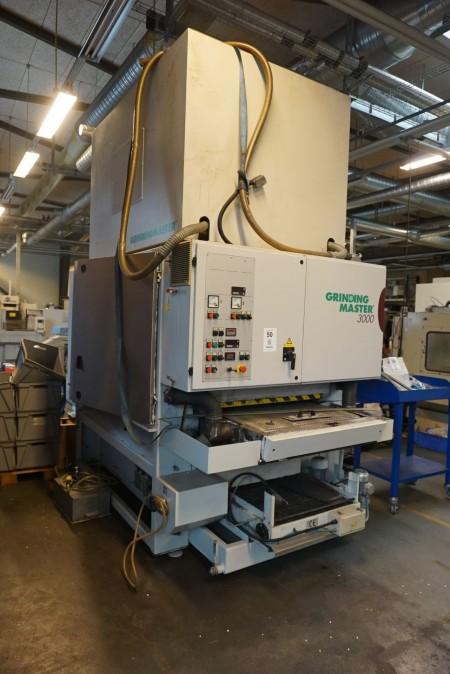 Vertikal slibe/ Poler maskine, Mærke: Grindingmaster, Model: 3000