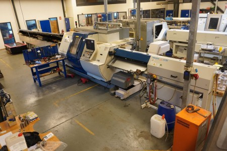 CNC Styret Drejebænk Mærke Gildemeister Model MF Twin 42