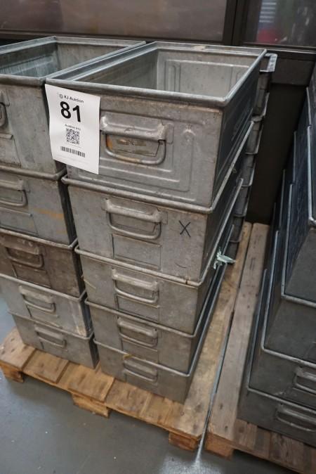 5 stk sortimentskasser. Mærke Schäfer