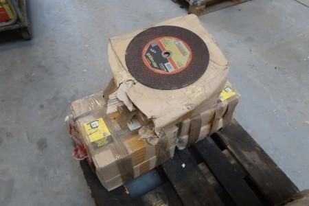 130 stk. skæreskiver til stål