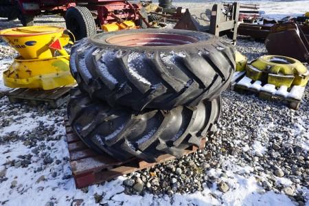 2 stk dæk med fælge