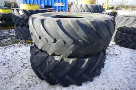2 stk traktordæk