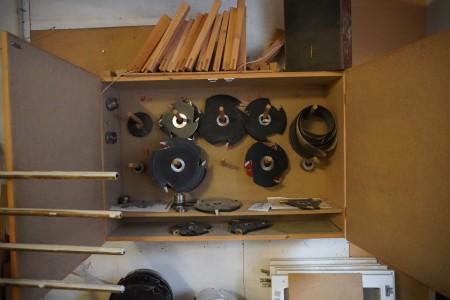 Diverse værktøj for enkelttapper.
