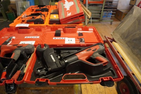 Sømpistol, Mærke: Hilti, Model: DX460