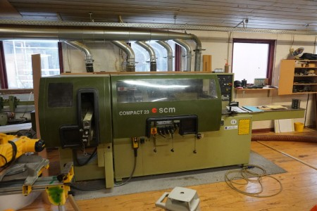 4 spindle kehle machine, Brand: SCM, Model: Compact 23