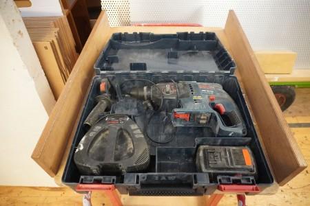 Borehammer, Mærke: Bosch, Model: GBH 36 V-LI