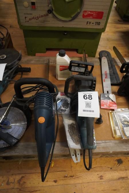 2 stk. Motorsave, Mærke: Makita & Bosch