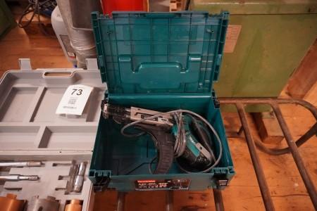 Gipsskruemaskine, Mærke: Makita, Model: 6843