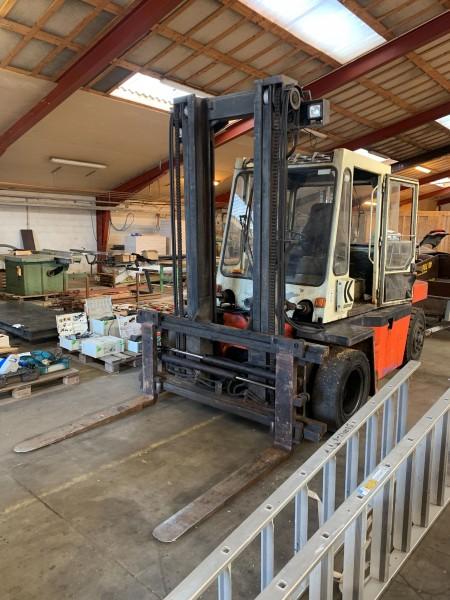 Truck, Mærke: Kalmar, Model: DB6-600
