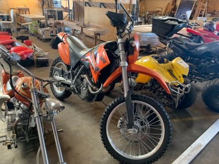 Motorcykel, Mærke: KTM, Model: LC640