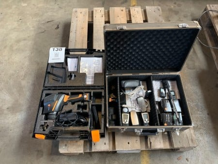 Termografi kamera, Mærke: Testo, Model: TESTO875