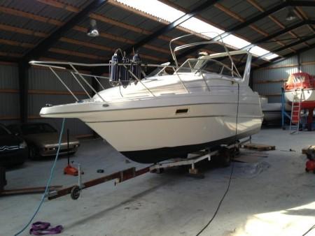 Motorbåd, mærke: Maxum 2400 scr