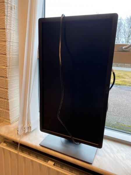 PC-skærm, mærke: Dell, model: ukendt.