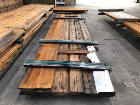 Termobehandlet og olieret facade brædder