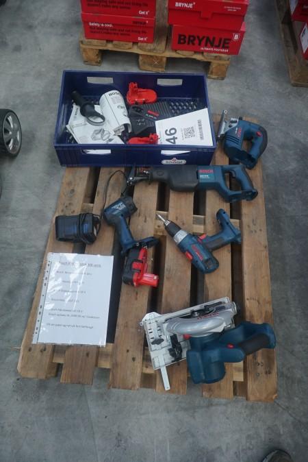 Parti elværktøj, mærke: Bosch