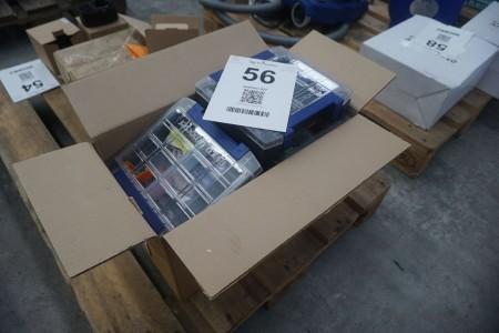10 stk. opbevarings bokse
