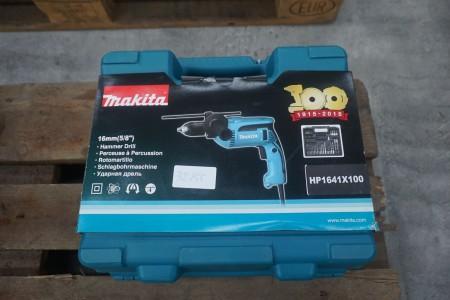 Boremaskine, mærke: Hitachi, model: HP1641