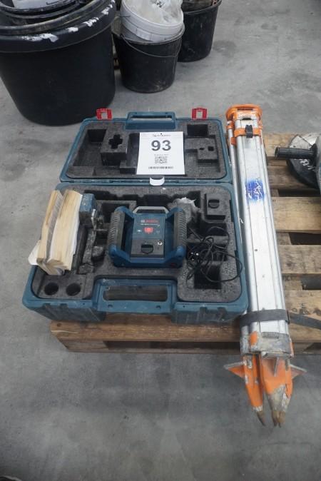 Rotationslaser, mærke: Bosch, model: GRL 400 H
