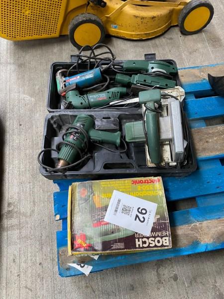 Viele Elektrowerkzeuge, Marke: Bosch