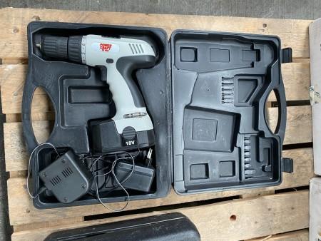 Boremaskine, mærke: Power Craft, model: 18 volt