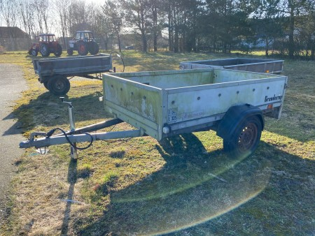 Brenderup trailer. Tidligere regnr.: JH7217