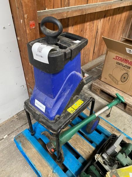 Kompostkværn + græstrimmer