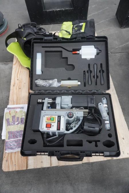 1 Stück. Magnetbohrer, Marke: Euroboor, Modell: ECO.32