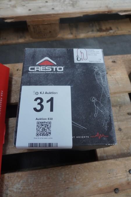 1 stk. faldsikring, mærke: Cresto, model: WP ANSI