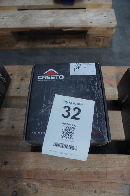 1 stk. faldsikring med elastik, mærke: Cresto, model: Twin Elastic FA