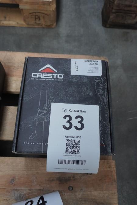 1 stk. faldsikingsblok, mærke: Cresto, model: W2H