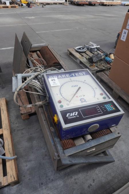 Bremsetester-system, mærke: EWJ